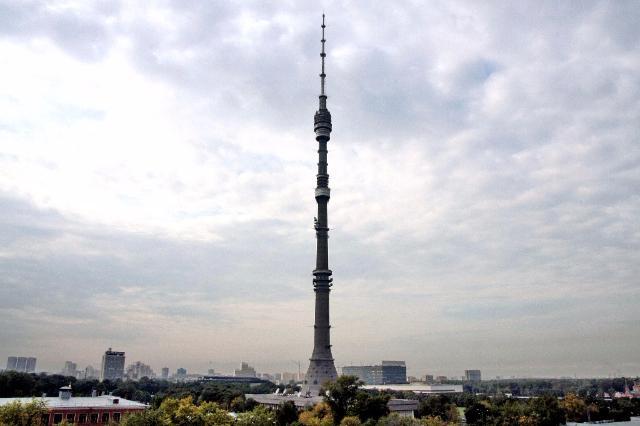 фото останкинской башни в москве вид внешне экономические