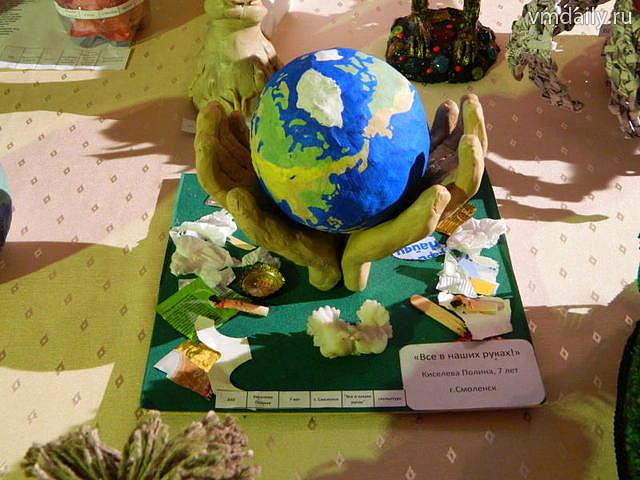 Поделка на день экологии в школу 86