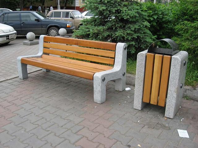 Скамейки на улицу своими руками
